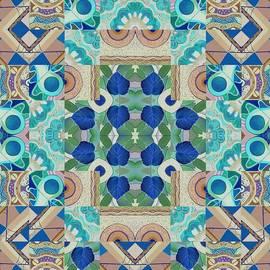 Helena Tiainen - T J O D Mandala Series Puzzle 5 Arrangement 2 Inverted