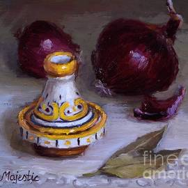 Viktoria K Majestic - Tagine and Purple Onions