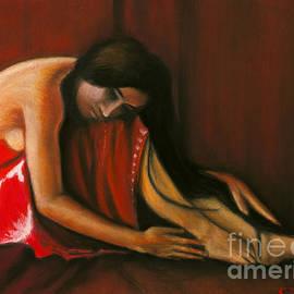 William Cain - Tahiti Woman Art Print