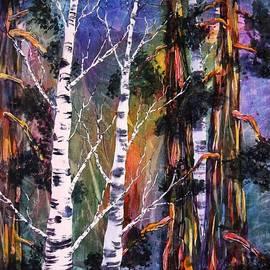 Eva Nichols - Tahoe Trees Magic