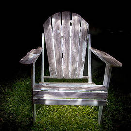 Greg Kopriva - Adirondack Chair Painted with Light