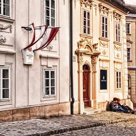 Menega Sabidussi - Taking a Break in Old Vienna
