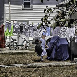Madeline Ellis - Taking out the garbage - Sarasota - Florida