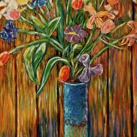 Kendall Kessler - Tall Blue Vase