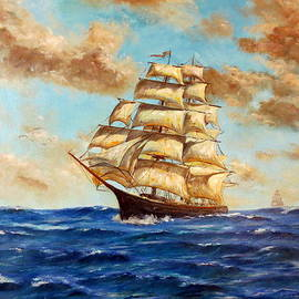 Lee Piper - Tall Ship On The South Sea