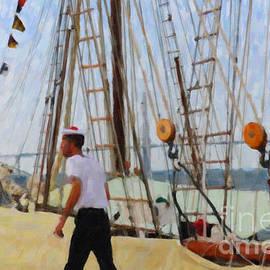 Dale Powell - Tall Ship Sailor Duty
