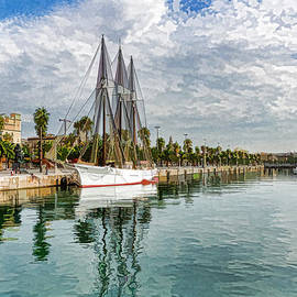 Georgia Mizuleva - Tall Ships and Palm Trees - Impressions of Barcelona