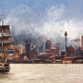 Sheila Smart - Tallship on Sydney Harbour