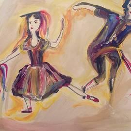 Judith Desrosiers - Tambourine dance