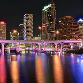 Frozen in Time Fine Art Photography - Tampa Lights