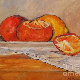 Barbara Moak - Tangerines with Lemon