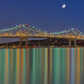 Susan Candelario - Tappan Zee Bridge Reflections