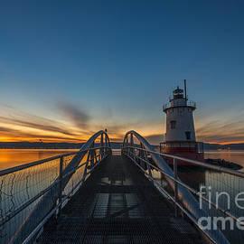 Michael Ver Sprill - Tarrytown Lighthouse Sunset