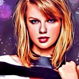 Scott Wallace - Taylor Swift Portrait
