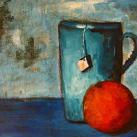 Patricia Awapara - Tea cup- orange tea
