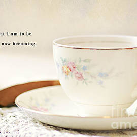 Pam  Holdsworth - Teacup and Book
