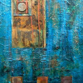 Debi Starr - Teal Windows