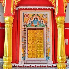 Kim Bemis - The Golden Door - Temple Entrance - Varanasi India