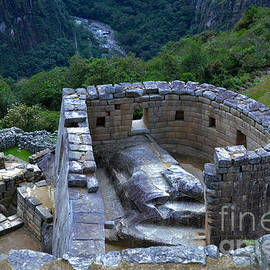 Catherine Sherman - Temple of the Sun in Machu Picchu