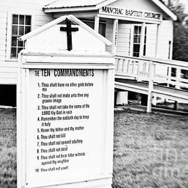 Scott Pellegrin - Ten Commandments