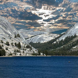 Randall Branham - Tenaya Lake California Sky Rock Water