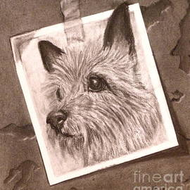 Susan A Becker - Terrier as Optical Illusion