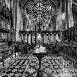 Jack Torcello - Tewkesbury Abbey BW