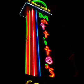 ARTography by Pamela  Smale Williams - TEX MEX Cantina NEON
