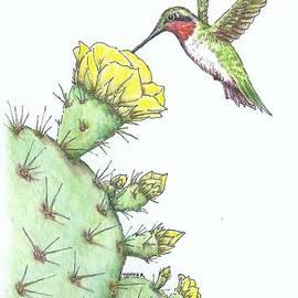 Sue Bonnar - Texas Ruby Among the Thorns