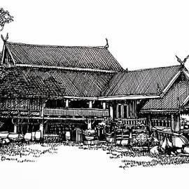 Thanes - Thai house Sketch