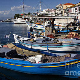 Daliana Pacuraru - Thassos Island Greece Blue Harbor