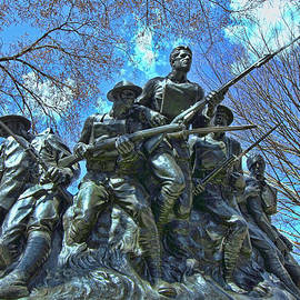 Allen Beatty - The 107th Infantry Memorial Sculpture