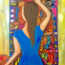 Deyanira Harris - The Abstract Painting