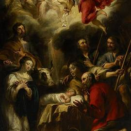 Jan Cossiers - The Adoration of the Shepherds