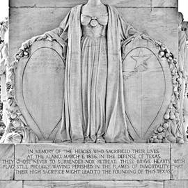Christine Till - The Alamo Cenotaph San Antonio TX