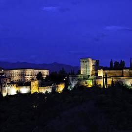 Madeline Ellis - The Alhambra At Night - Granada - Spain
