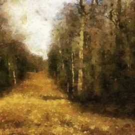 RC deWinter - The Allee at Dawn
