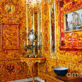 Catherine Sherman - The Amber Room at Catherine Palace