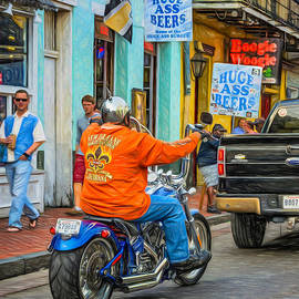 Steve Harrington - The American Way - Harleys Pickups and Huge Ass Beers - Paint