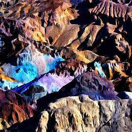 Bob and Nadine Johnston - The Artists Palette Death Valley