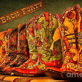 Priscilla Burgers - The Back Forty Boots Are Made For Dancin