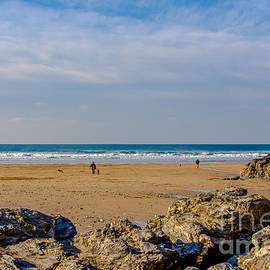 Brian Roscorla - The Beach at Porthtowan Cornwall