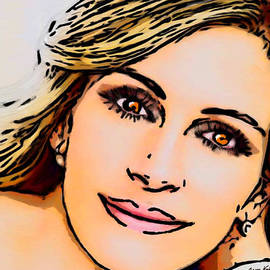 Bruce Nutting - The Beautiful Julia Roberts
