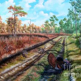 Daniel Butler - The beginning of the End- Osceola Turkeys