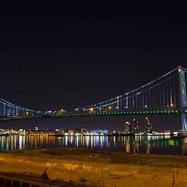 Bill Cannon - The Benjamin Franklin Bridge from Camden