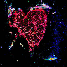 Kelly Awad - The Bleeding Heart in Neon