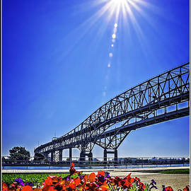 The Blue Water Bridge Michigan