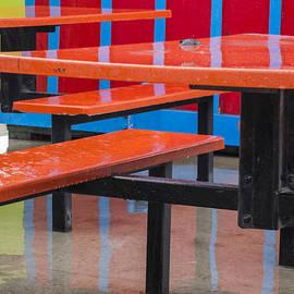 Bruce Frye - The Boardwalk in the Rain