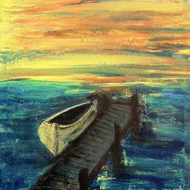 Linda Waidelich - The Boat At The End of The Dock