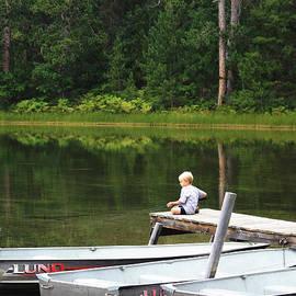Dennis Pintoski - Boy Fishing